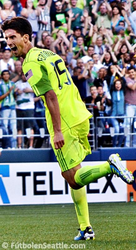Álvaro FERNÁNDEZ anotó el gol hístorico ante el Monterrey | Foto: Justo HERNÁNDEZ