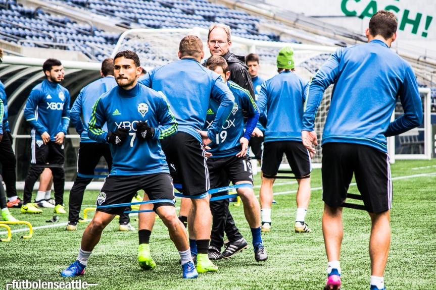 El regreso a casa. Tras una larga espera los Sounders FC celebran en su estadio la CopaMLS