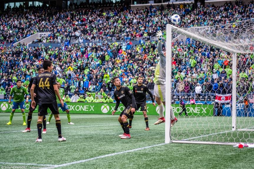 Sounders caen ante el debutanteLAFC